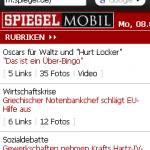 Surfen mit Opera Mini 5