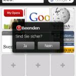 Beenden
