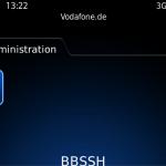 bbSSH - Starten