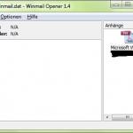 Winmail Opener - Dekodierte winmail.dat