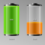 Dual Battery Widget