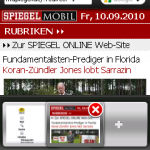 Opera 5.1 auf Windows Mobile - Tabs