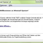 Winmail Opener - Start